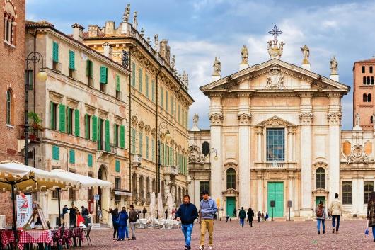Włochy Mantua bazylika