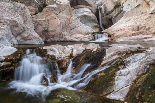 sardynia atrakcje wodospad