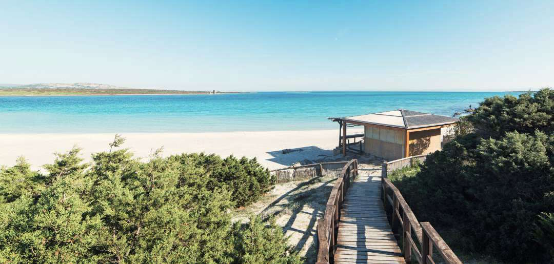 Sardynia atrakcje plaża La Pelosa