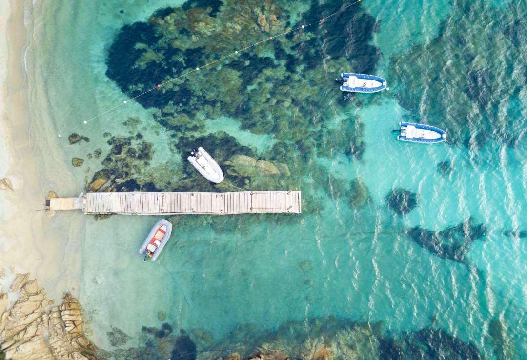 Sardynia atrakcje plaża Spiaggia del Principe