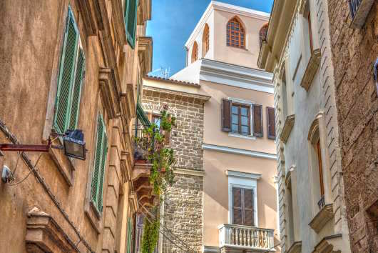 Sardynia atrakcje Carloforte Alghero