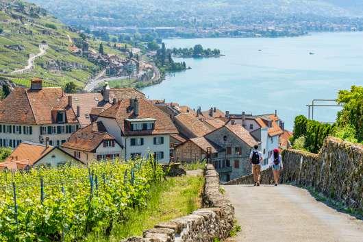 gdzie na jesień lavaux  szwajcaria