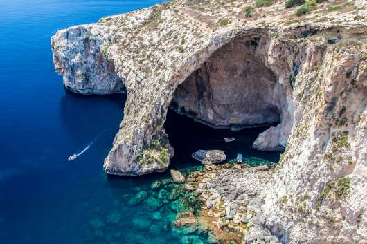 Błękitna Grota Malta