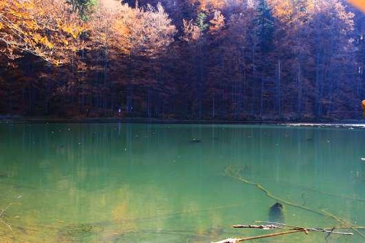 bieszczady atrakcje jeziorka