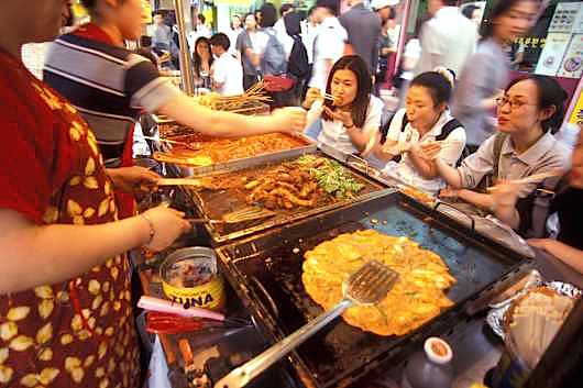 seul korea street food