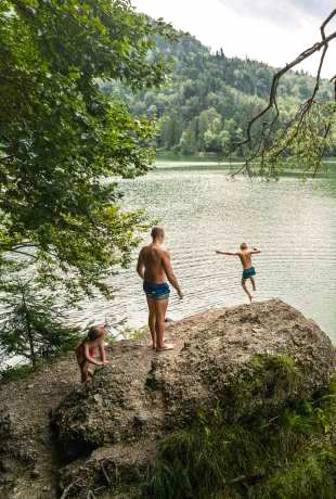austria nad jeziorem