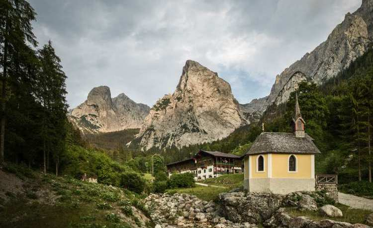 szlaki w austrii