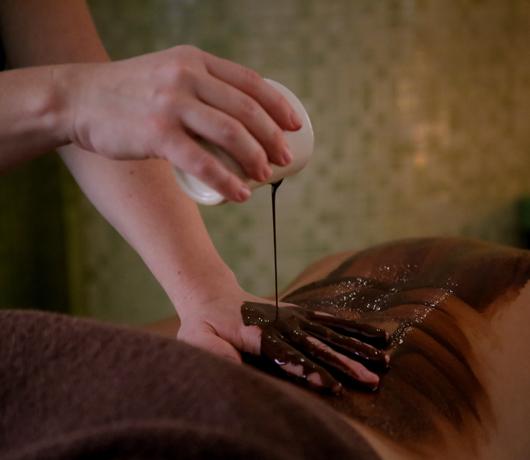 masaż z czekoladą spa Kombornia