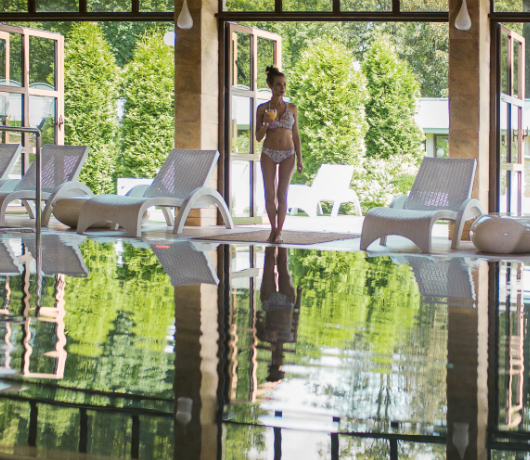 kryty basen manor house spa