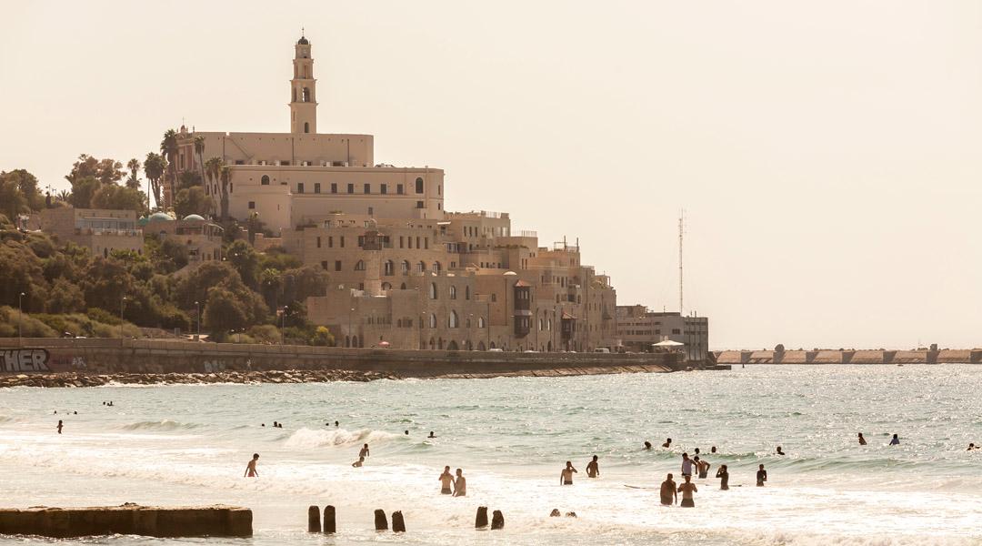 plaża Tel Baruch w Tel Awiwie