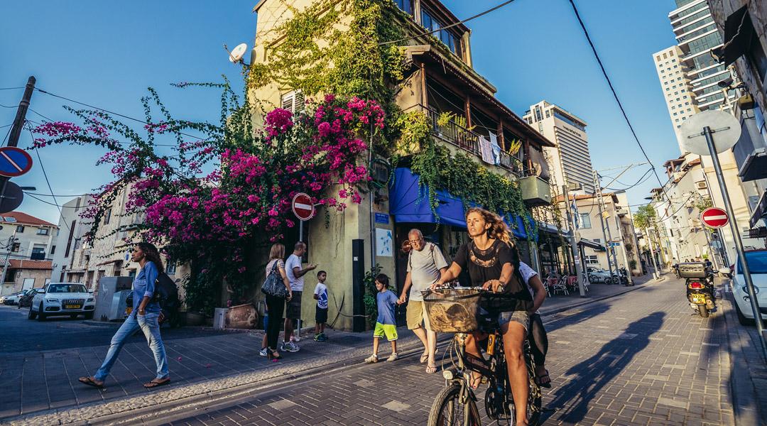 rowery elektryczne w Tel Awiw
