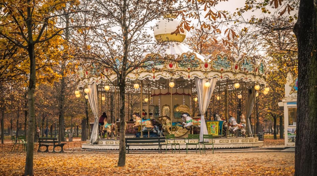 KaruzelaJardin des Tuileries Paryż
