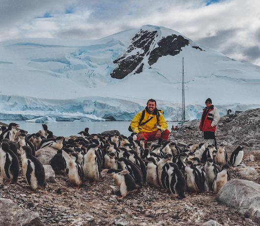 wycieczka na antarktyde