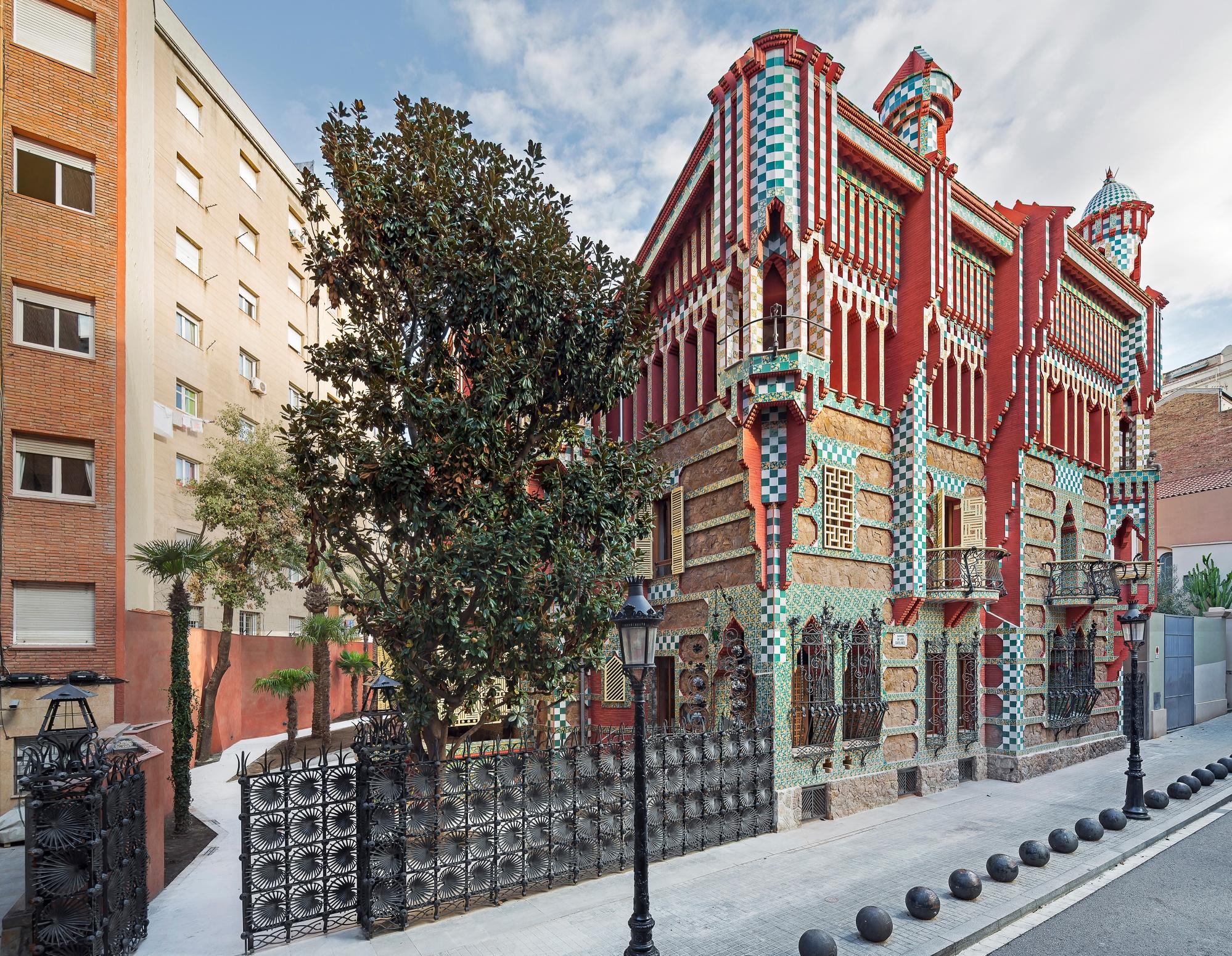 Barcelona: można zwiedzać Casa Vicens, pierwszy dom Gaudiego