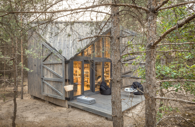 Bookworm Cabin, czyli chatka do czytania. Zobacz, jak wygląda w środku!
