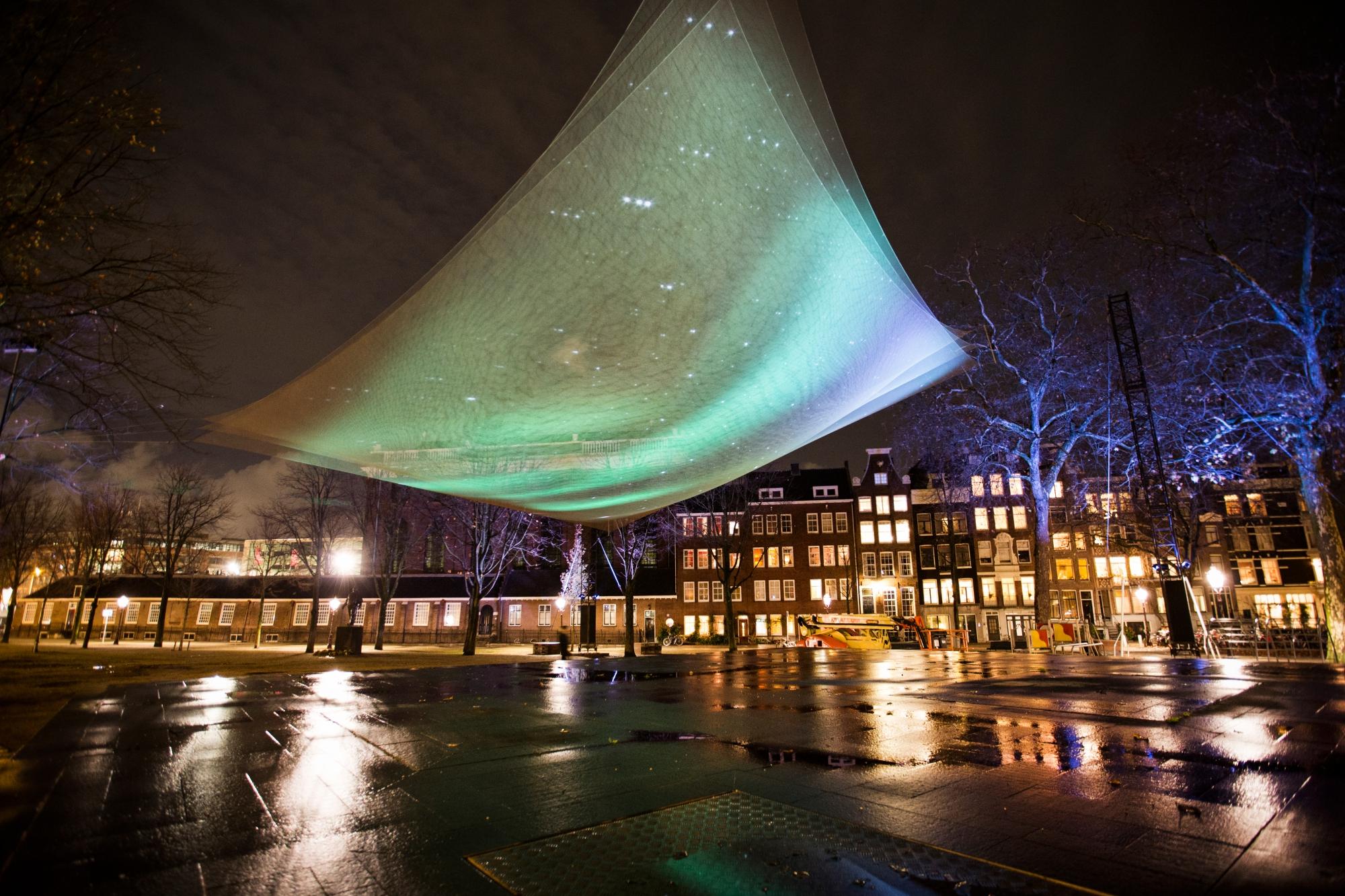 Zobacz Festiwal Światła w Amsterdamie