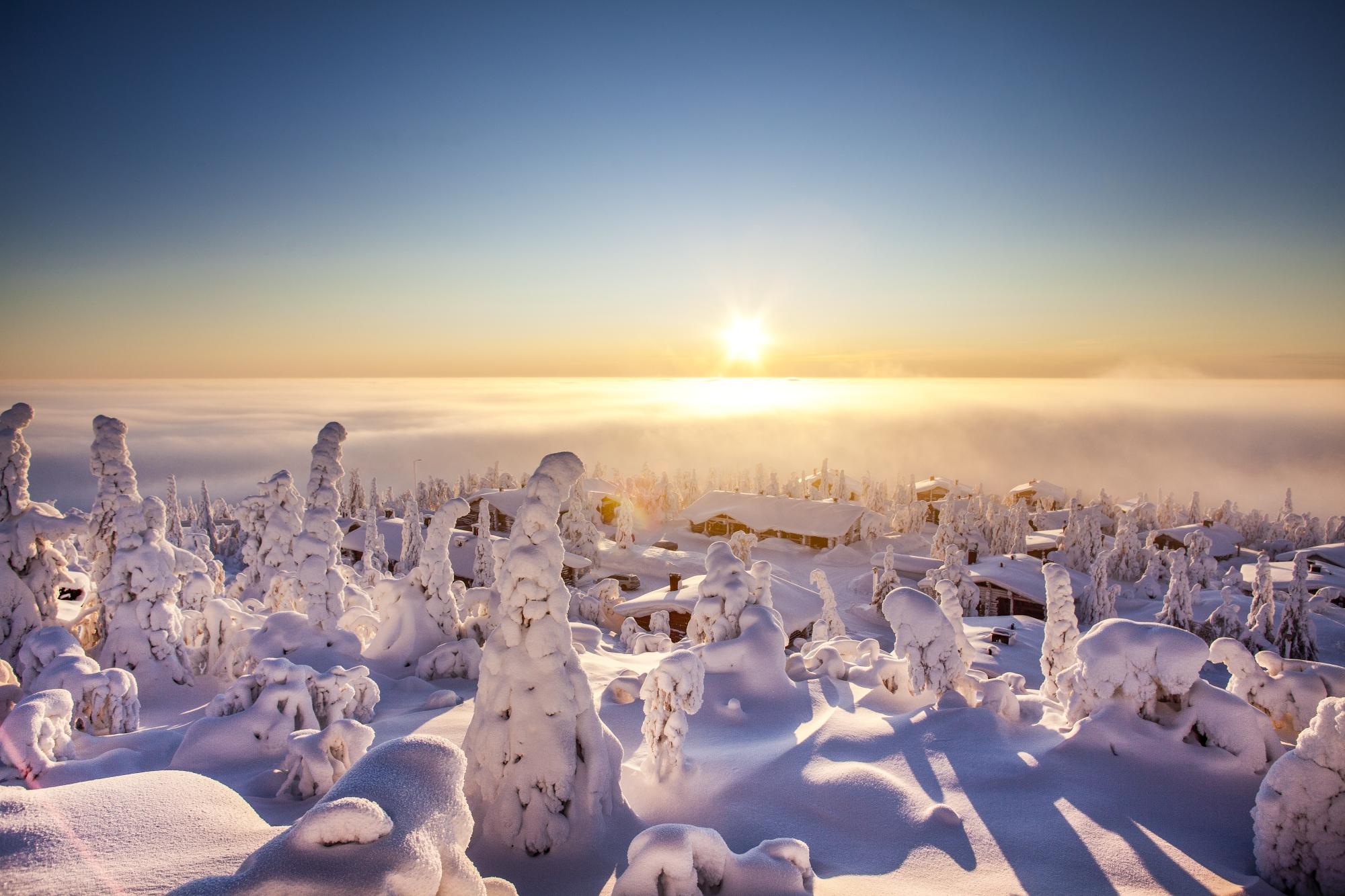 Jedziemy do Finlandii! Zima na północy jest piękna