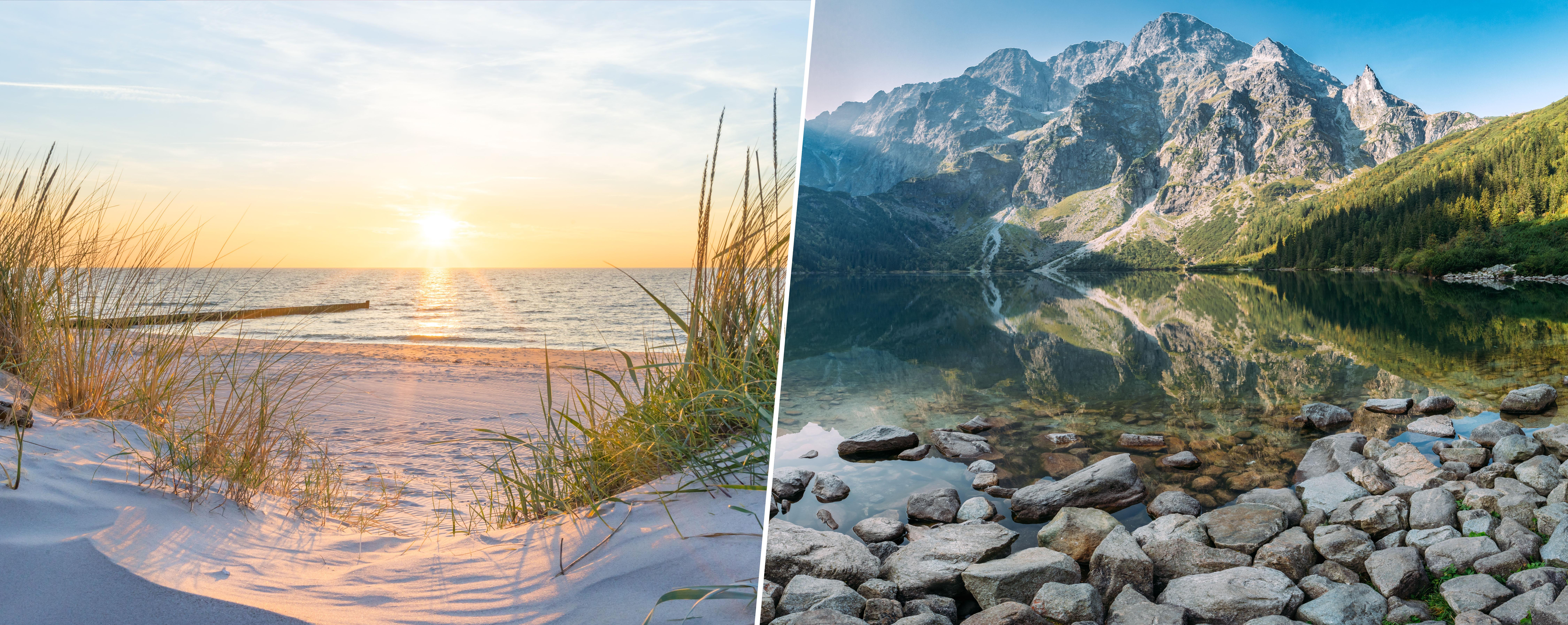 Gdzie na wakacje w tym roku: w góry czy nad morze?