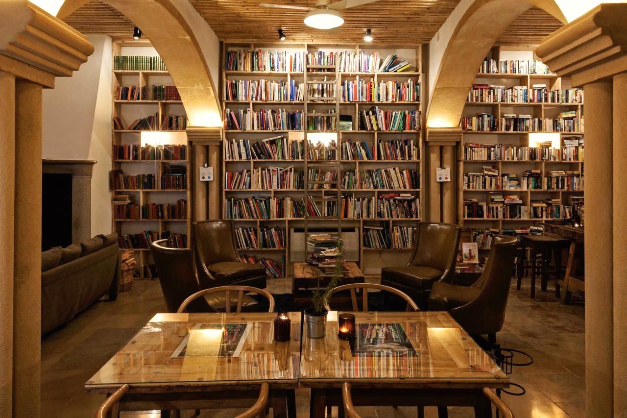 Raj dla miłośników książek: hotel The Literary man
