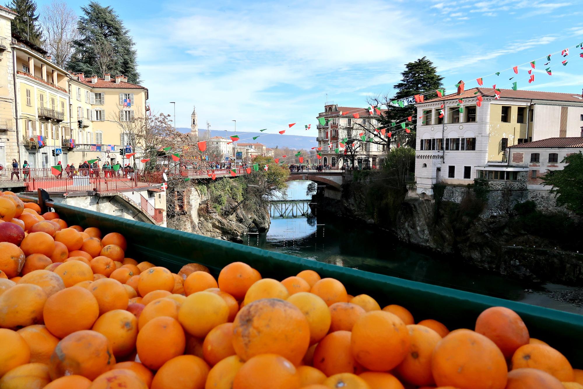ivrea bitwa na pomarańcze