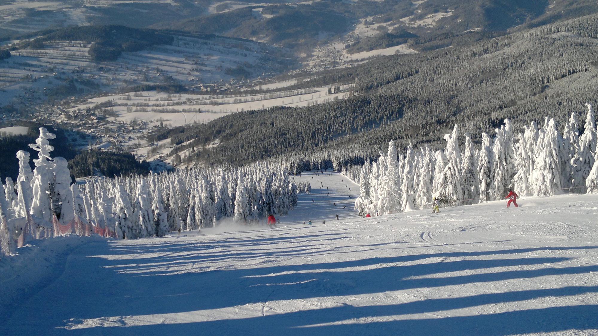 szpidlerowy młyn kurort narciarski czechy
