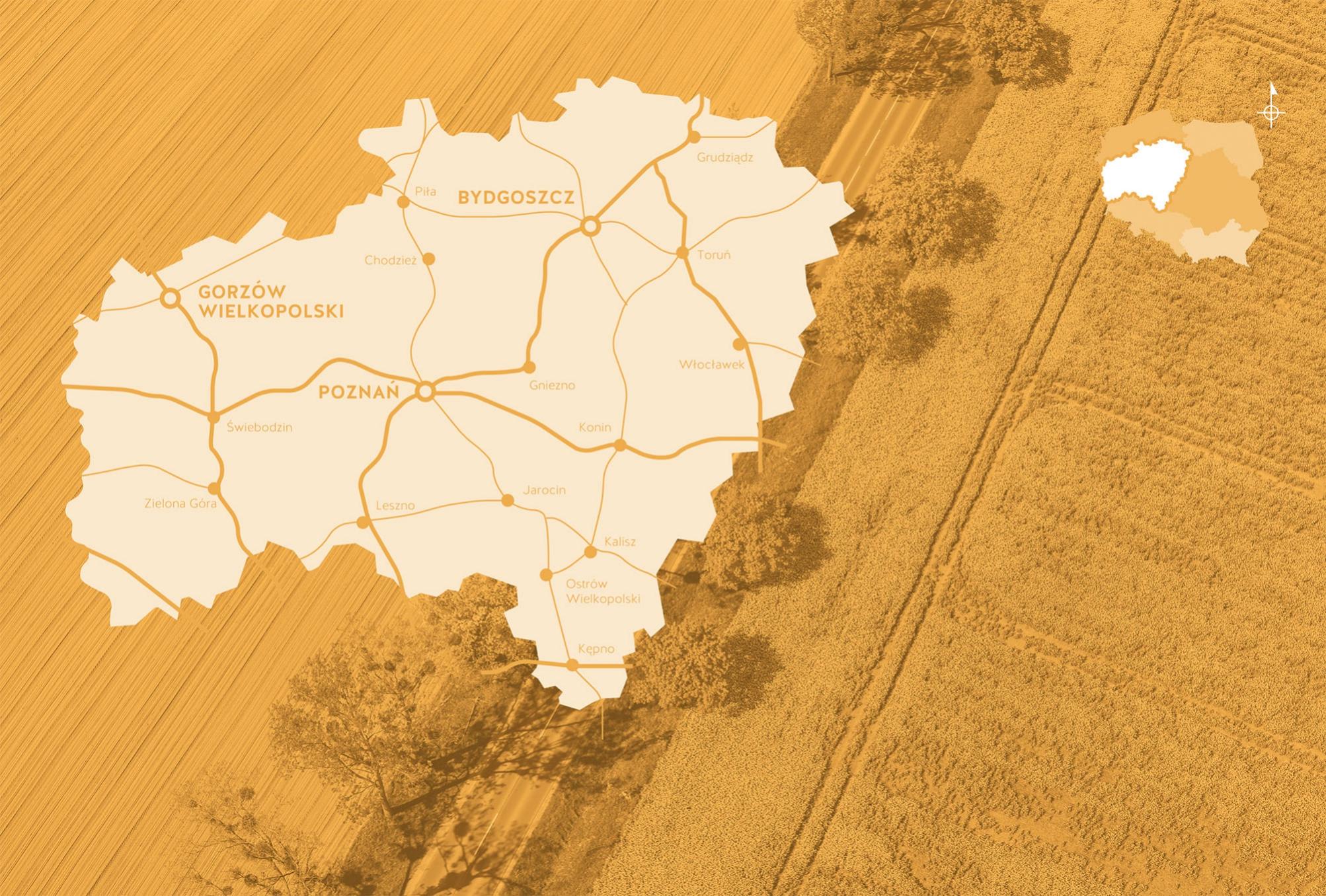 6 weekendów po Polsce - Lubuskie, Wielkopolska i Kujawy