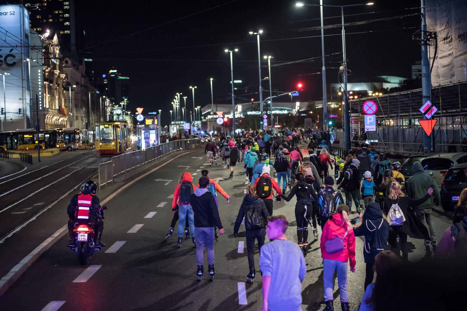 Nightskating Warszawa – otwarcie sezonu