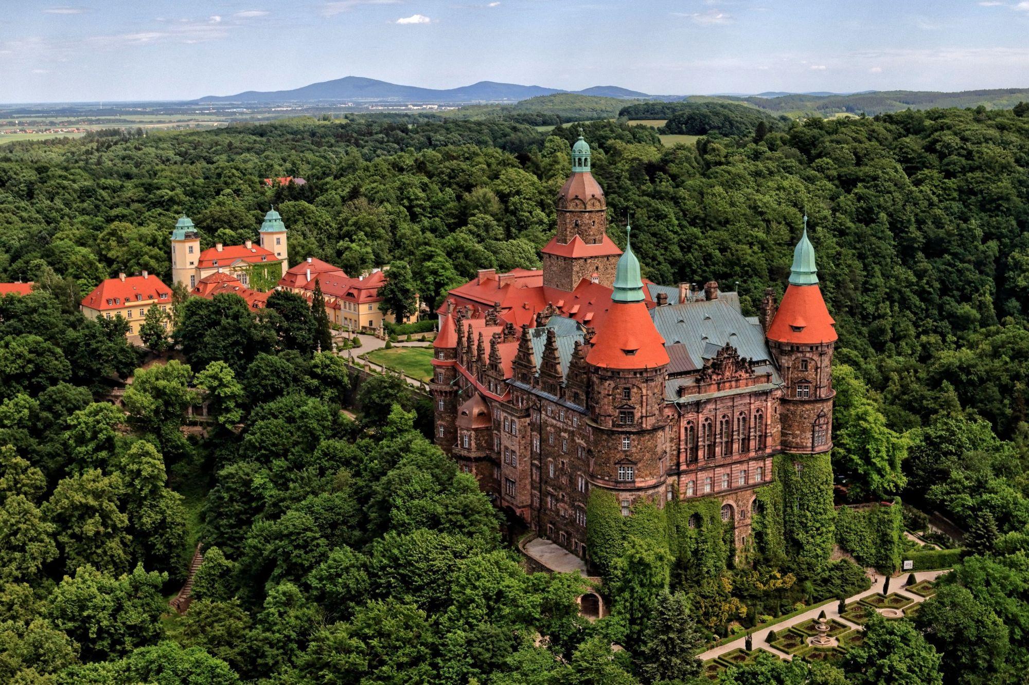 Zamek Książ – historyczna atrakcja Wałbrzycha