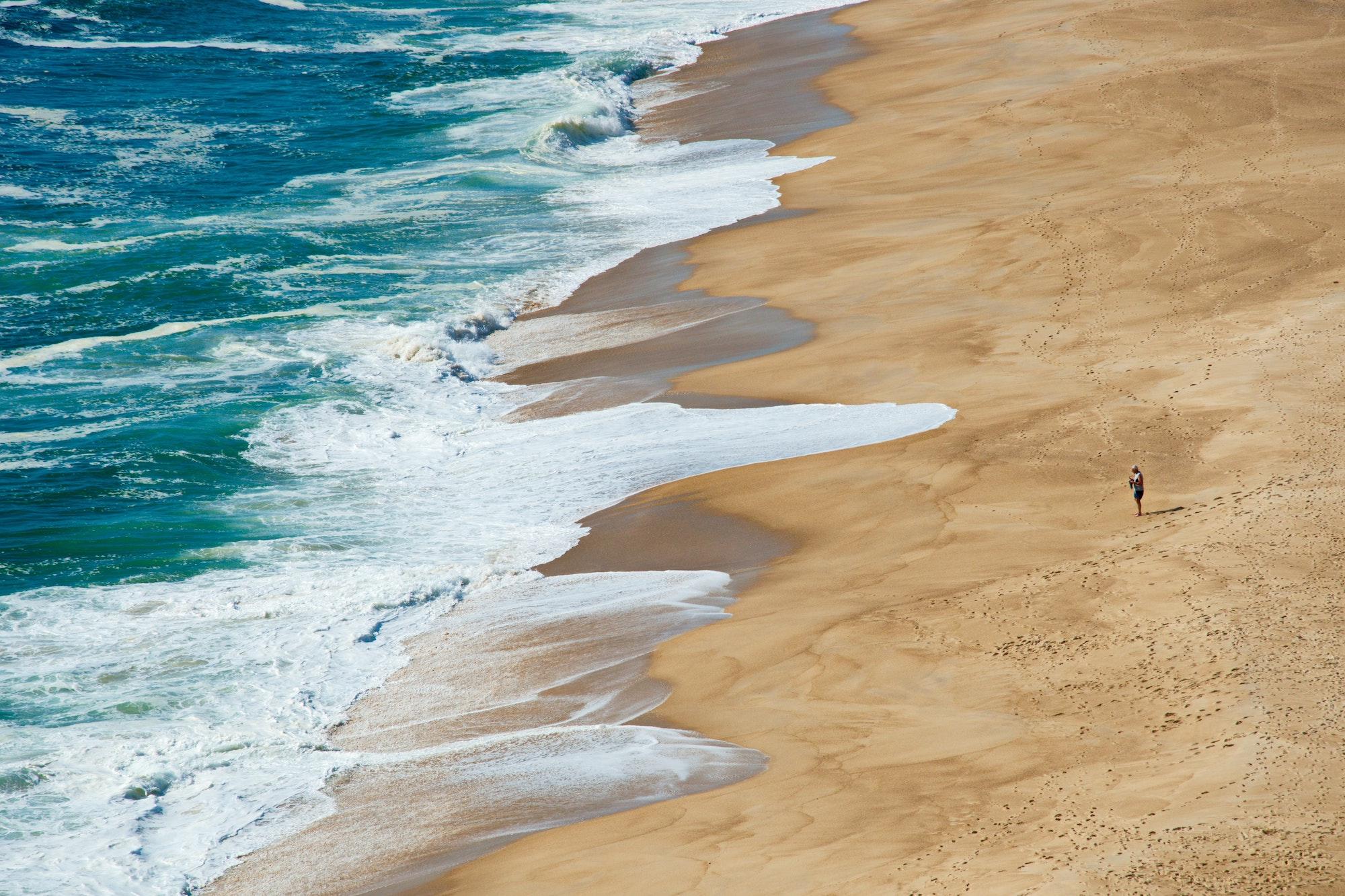 portugalia mapa plaż