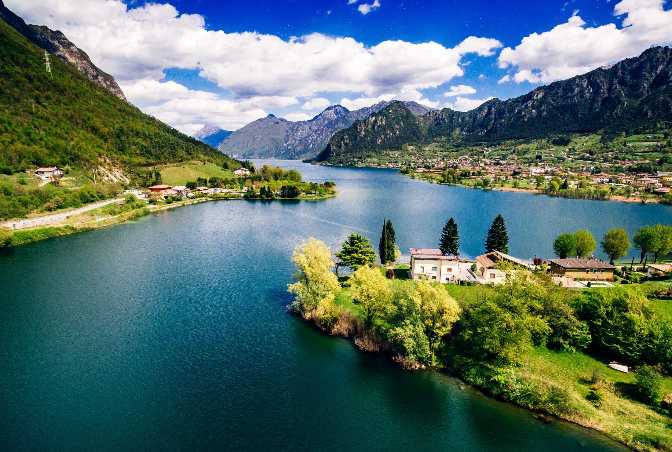 włochy jezioro idro