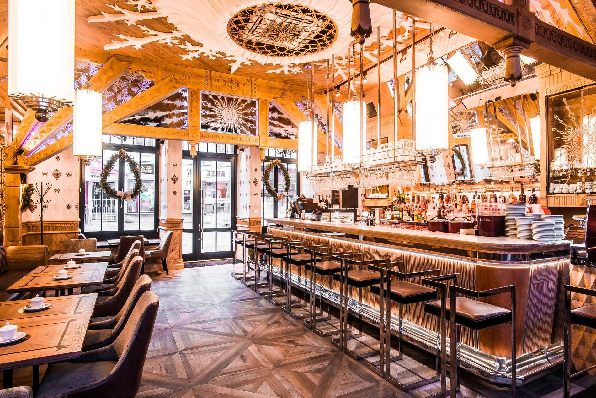 Zakopane: nowe wnętrza kultowej Kawiarni Europejskiej